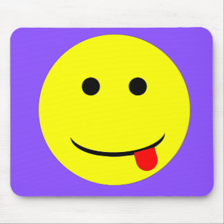 Smiley 3 mouse pad