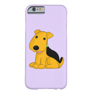 Smiley Airedale Pup Barely There iPhone 6/6s Case
