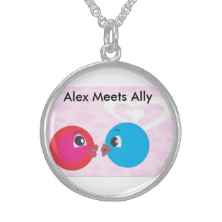 Smiley Alex And Ally Kissing Each Other Jewelry