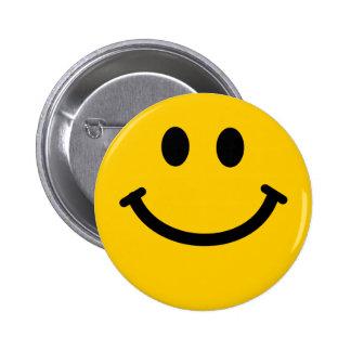 Smiley badge button