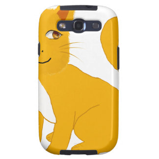 Smiley Cat Samsung Galaxy S3 Cases