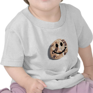 Smiley Chocolate Chip Cookie T Shirts