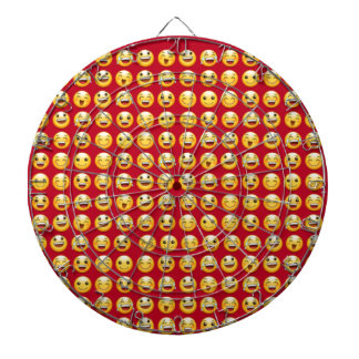 smiley dartboard