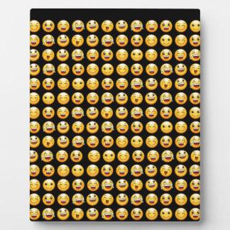 smiley display plaque