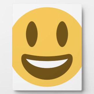 Smiley emoji display plaque