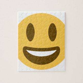 Smiley emoji jigsaw puzzle
