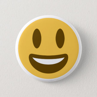 Smiley Emoji Twitter 6 Cm Round Badge