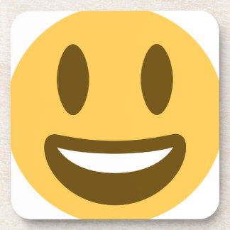 Smiley Emoji Twitter Drink Coaster