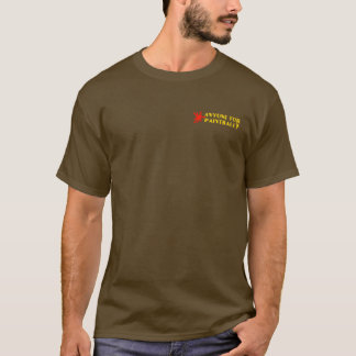 Smiley Face: Anyone for Paintball? Distressed T-Shirt