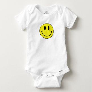 smiley face baby onesie