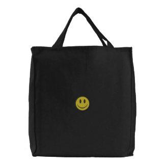 Smiley Face Canvas Bags