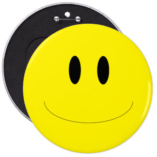 Smiley Face Colossal Button