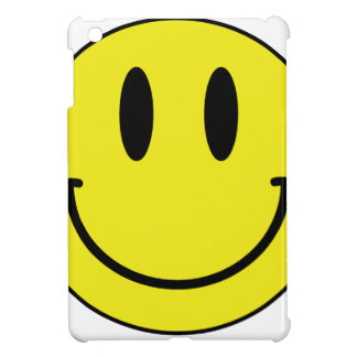 smiley face cover for the iPad mini
