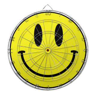 smiley face dartboard