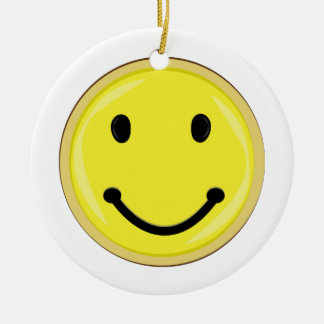 Smiley Face Ornaments