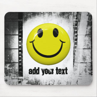 Smiley Face Film Strips Mousepad