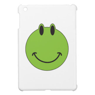 Smiley Face Frog iPad Mini Cover