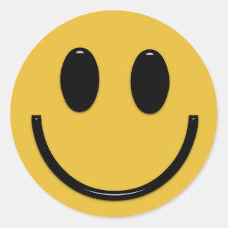 Smiley face fun cartoon sticker