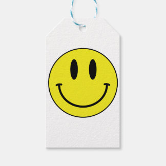 smiley face gift tags