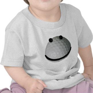 Smiley face golf ball tees