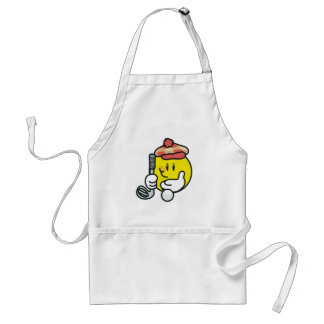 Smiley Face Golf T-shirts and Gifts Standard Apron