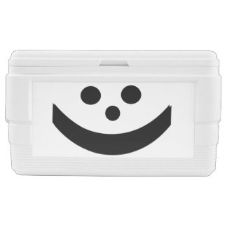 Smiley Face Ice Chest