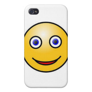 Smiley Face iPhone 4 Cover