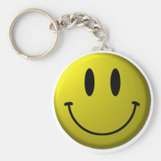 Smiley-face Key Ring