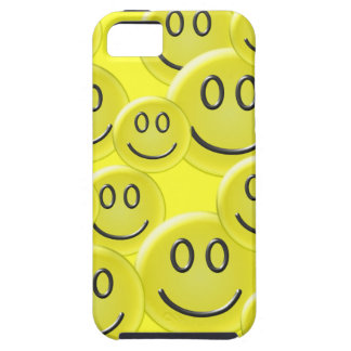 Smiley Face Pattern Design iPhone 5 Case