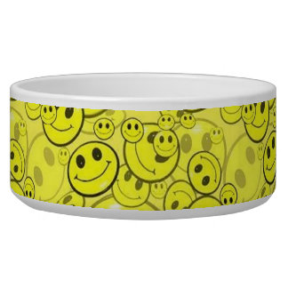 Smiley Face Pet Bowl