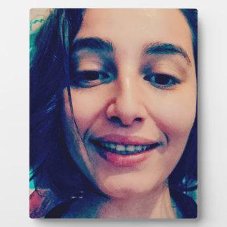 Smiley Face Photo Plaque