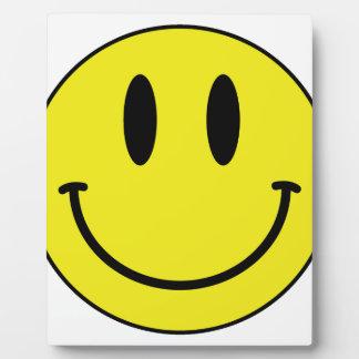 smiley face plaque