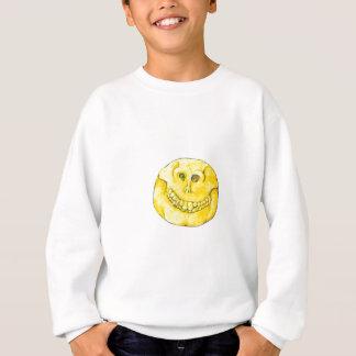 Smiley Face Skull Sweatshirt
