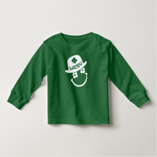 Smiley Face St.Patrick's Day Baby Sweatshirts