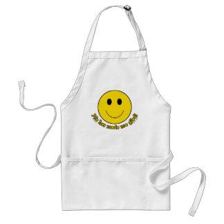 Smiley Face Standard Apron