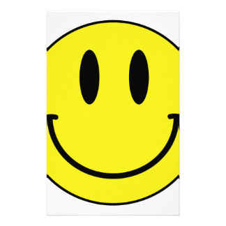 smiley face stationery