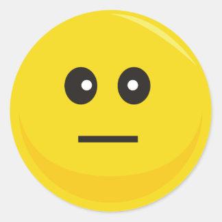 Smiley Face Sticker (Hmmpff)