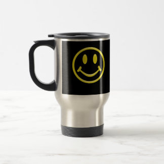 Smiley Face Travel Mugs