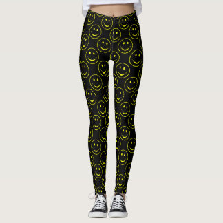 Smiley Faces and Happy Thoughts Leggings