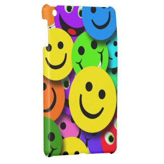 Smiley Faces Collage iPad Mini Case