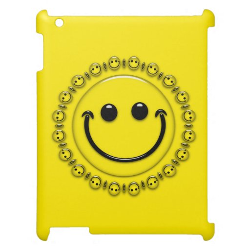 Smiley Faces Cover For The iPad 2 3 4