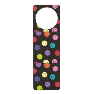 Smiley Faces - Multi-colored Door Hanger