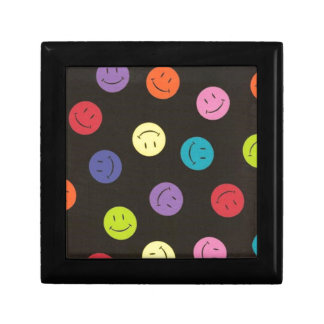 Smiley Faces - Multi-colored Gift Box