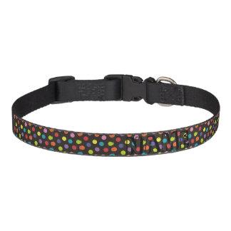 Smiley Faces - Multi-colored Pet Collar