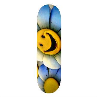 Smiley Flowers Custom Pro Park Board Skate Board Deck