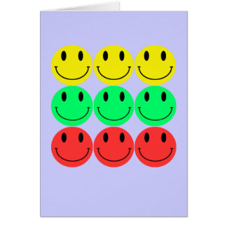 Smiley Greeting Card