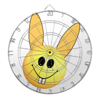 Smiley happy bunny for Easter Dartboard