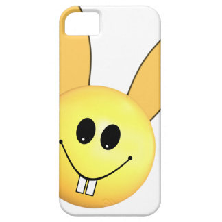 Smiley happy bunny for Easter iPhone 5 Case