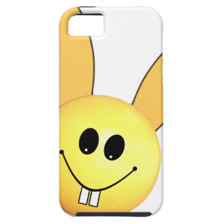 Smiley happy bunny for Easter iPhone 5 Cases