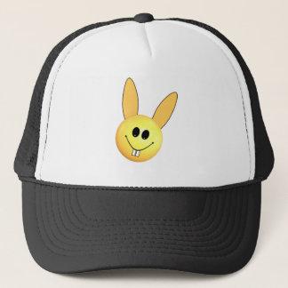 Smiley happy bunny for Easter Trucker Hat